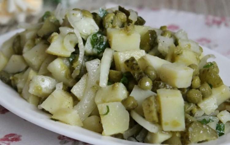 Салат с картофелем крестьянский